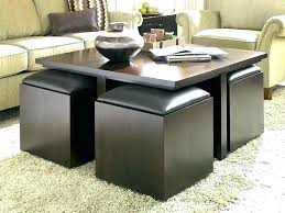 coffee table with nested ottomans coffee table with ottomans underneath awesome coffee table with ottoman seating coffee table with nested ottomans