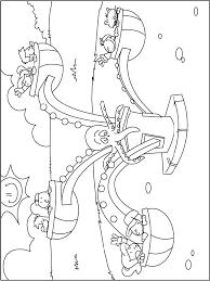Kleurplaat Kermis Octopus Kleurplatennl