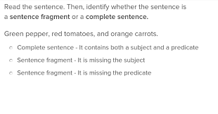 Sentence Fragments Fragment Or Sentence Lesson Plan Education Com