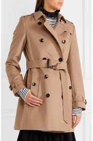Burberry Sizing Charts Trench Coats The Kensington Mid Wool And Cashmere Blend Felt Trench Coat