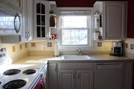 Kitchen With White Cabinets Gray Kitchen Cabinets White Appliances Quicuacom