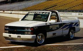 1996 Chevrolet C/K Vortec V-8 Pace Truck | Archived Instrumented ...