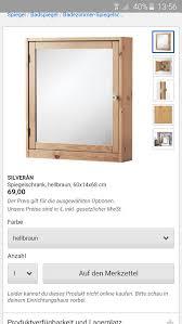 Ikea Silverån Bad Spiegelschrank In 13353 Berlin Für 5900 Kaufen
