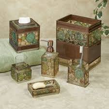 Mosaic Bathroom Accessories Sets Bath Home Decor Touch Of Class