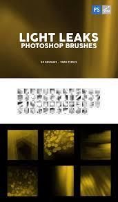 50 High Quality Light Spotlight Photoshop Brushes 100 Light Leaks Photoshop Brushes 50 Brushes Inside Up To