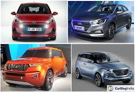 new car launches by hyundai indiaUpcoming New Hyundai Cars in India in 2017 2018  Hyundai Launches