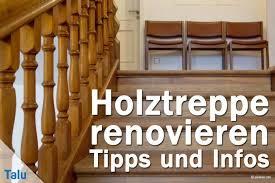 Eine neue treppe ist kaum teurer. Holztreppe Renovieren Diy Anleitung Und Kosten Beispiel Talu De