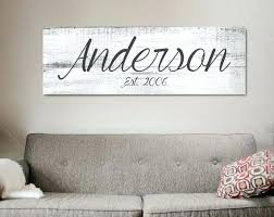contemporary last name wall decor home decorating ideas inspirational interesting design excellent best decal on personalised family name wall art with contemporary last name wall decor home decorating ideas