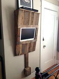 diy tv mount stand mount stand free standing throughout decor diy wall mount tv cabinet diy diy tv mount