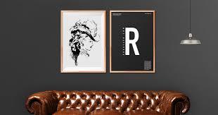 techandall art frame v2 livingroom