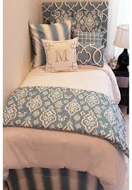 Best 25+ Dorm room beds ideas on Pinterest | College dorms ... & Beautiful Blue Designer Teen & Dorm Bed in a Bag | Teen Girl Dorm Room  Bedding Adamdwight.com