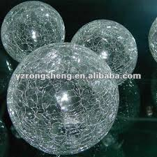 Clear Glass Balls Decorative Amazing 32 New Hot Sale Decorative Clear Glass Crackle Ball Hollow Glass