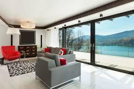sliding door window coverings modern