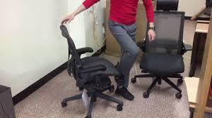 Herman Miller Aeron Chair Remastered (2017) \u0026 Fursys ZIEL (ch-4700 ...