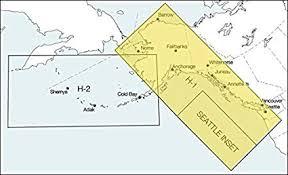 Amazon Com Faa Chart High Altitude Enroute Alaska H1 H2