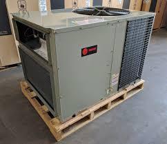 trane 3 ton heat pump package unit. trane 13 seer over and under heat pump package unit 3.5ton $4000.00. price includes installation* trane 3 ton heat pump package unit