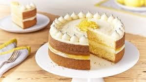 Zesty Lemon Celebration Cake Recipes Food Network Uk