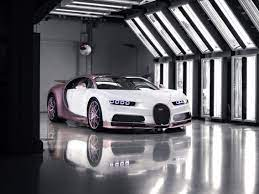 Bugatti founded in 1909 by ettore bugatti is a maker of high end limited edition super fast cars. Bugatti Shows Off Pink Chiron Sport With Silk Rose Accents