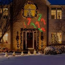 outdoor christmas lighting. light projectors christmas outdoor lighting