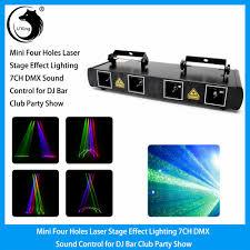 Online Laser Light Show Laser Light 460mw 4 Lens 4 Beam Rgpy Dj Stage Lighting Party Show Dmx Projector