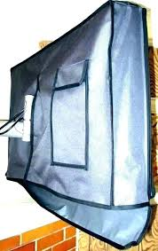 outdoor waterproof covers cover inch led bathroom shower room best water r outside tv for outdoors