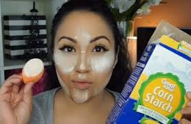 why you should never ever use cornstarch or cocoa powder to replace makeup