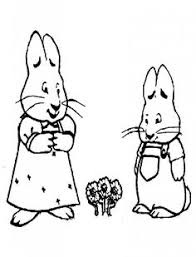 Small Picture Max and Ruby Coloring Pages Movies and TV Show Coloring Pages