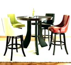 small bistro table set indoor and chairs outdoor