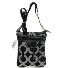 HighQualityCoach Coach Legacy Swingpack In Signature Small Grey Crossbody  Bags AVI