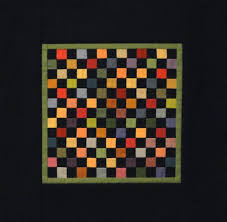 Best 25+ Amish quilts ideas on Pinterest | Image amish, Nine patch ... & Amish Scrap Miniature Quilt - how the black sets off the rich colours Adamdwight.com