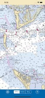 Noaa Chart 11425 Port Leon Fl To Venice Fl