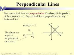 6 perpendicular