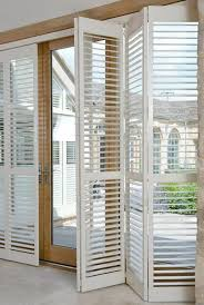 tracked full height window shutters are