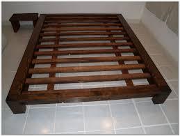 Queen Mattress Size Room Platform King Bed Dimensions Brown Build Floating  Varnished Make Your Own Wooden ...