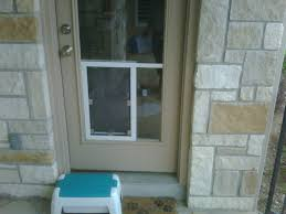 hale pet door in glass installation san antonio