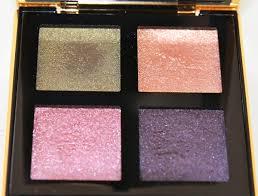 yves saint lau pure chromatics 6 palette too faced totally cute eyeshadow palette very ysl makeup