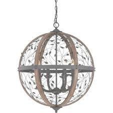 wood orb chandelier large round wooden orb chandelier rustic wood intended for wood orb chandelier