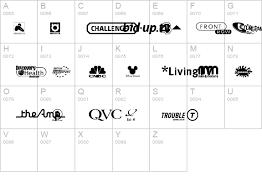 tv channel logos. uk digital tv channel logos details - free fonts at fontzone.net tv
