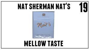 Nat Sherman Lights Nat Sherman Nats Mellow Taste Cigarette Review Episode 19