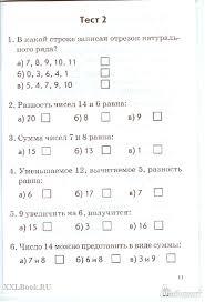 Математика Русский язык класс Итоговое тестирование  1 класс Итоговое тестирование Контрольно измерительные материалы