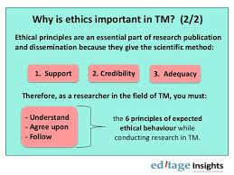 ethical principles to follow when writing a paper on traditional  6 why is ethics