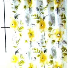 mustard shower curtain yellow grey shower curtain yellow grey shower curtain fl fabric curtains gray and