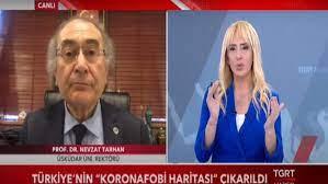 Prof. Dr. Nevzat Tarhan TGRT Haber'de Koronafobi araştırmasını  değerlendirdi   Hab