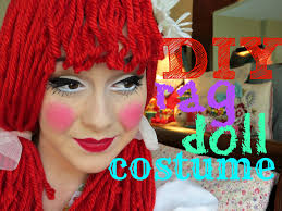 rag doll makeup you