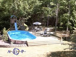 Free Pool Deck Plans Best 25 Above Ground Pool Slide Ideas On