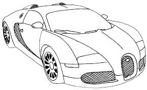 Another cool car coloring sheet with big wheels. Coloring Pages Ferrari Car Coloring Sheets For Kids