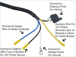 4 prong trailer to 7 prong wiring wiring diagram \u2022 7 pin trailer wiring diagram with brakes chevy 7 pin trailer wiring diagram banksbanking info rh banksbanking info 4 pin to 7 pin