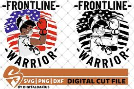 These svg images were created by modifying the images of pixabay. 2x Frontline Warrior Bundle Svg Strong Woman Svg Hero Svg 541698 Cut Files Design Bundles