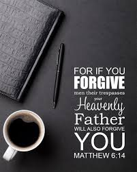 Bible Quotes On Forgiveness