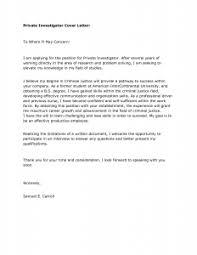 Best Solutions Of Sample Cover Letter For Resume Criminal Justice